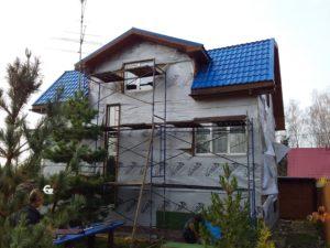 Ремонт Фасада Дома в Москве 2